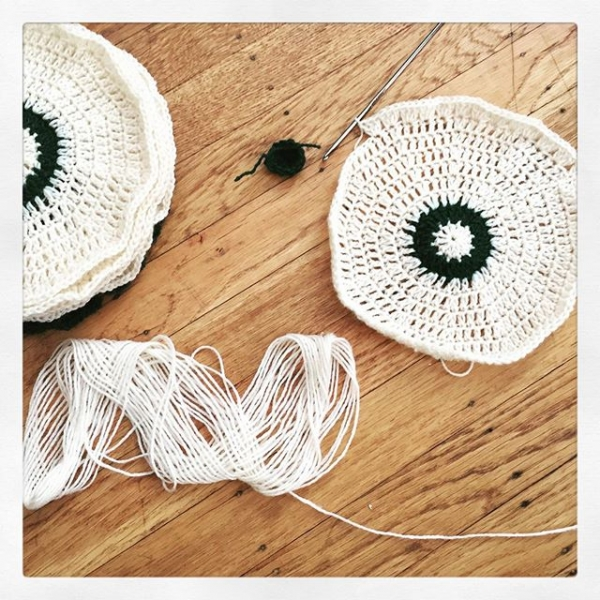 crochet mandalas in the works vercillo