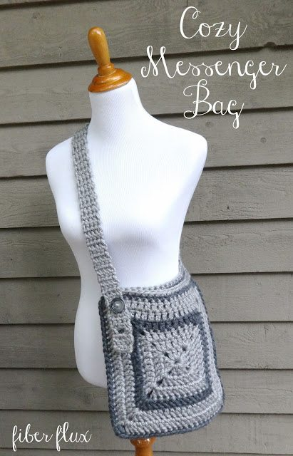 crochet messenger bag free pattern