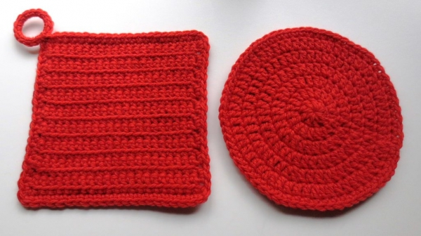 crochet potholders free patterns