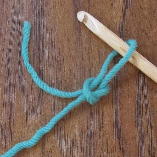 crochet reverse slipknot