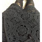crochet skirt vercillo black