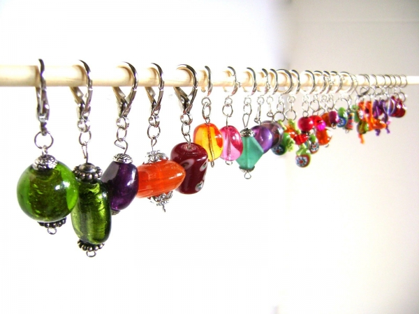 crochet stitch markers tutorial