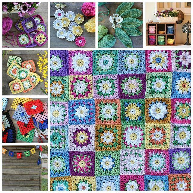 crochetgirl99 crochet collage august