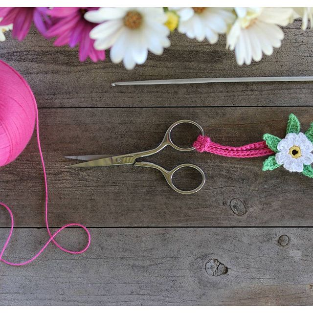 crochetgirl99 crochet scissors
