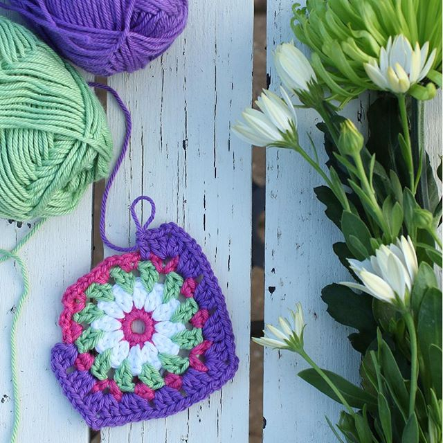 crochetgirl99 crochet square