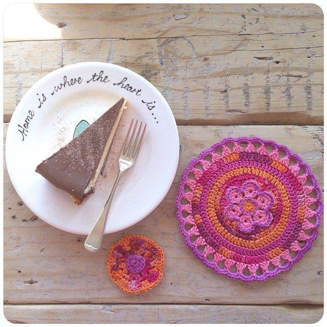 crochetinpaternoster crochet mandala