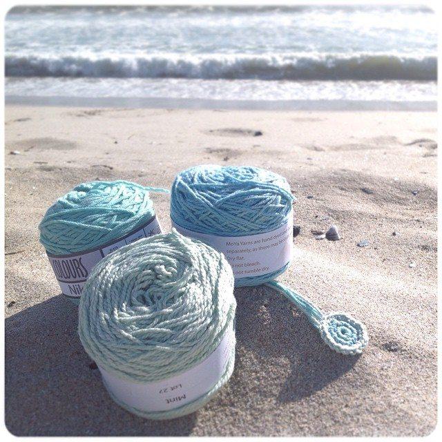 crochetinpaternoster yarn