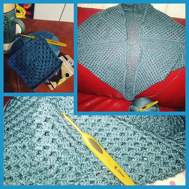 darna.82 crochet granny shrug