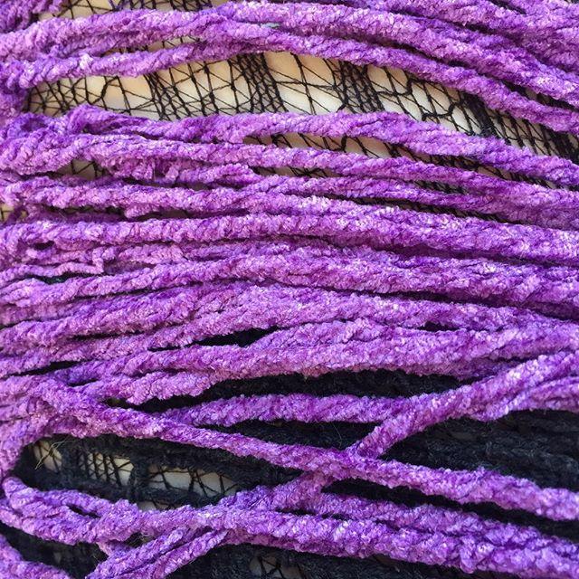 darngoodyarn purple yarn