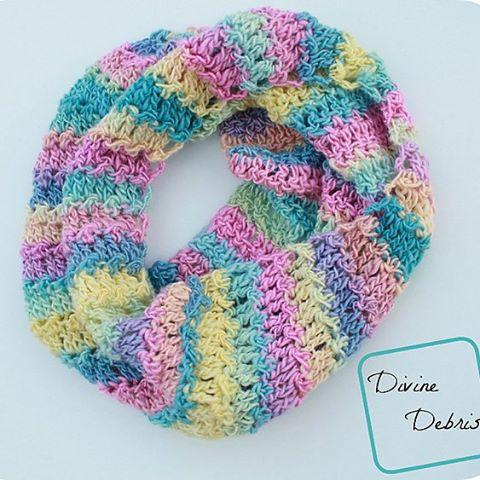 divinedebris crochet cowl pattern