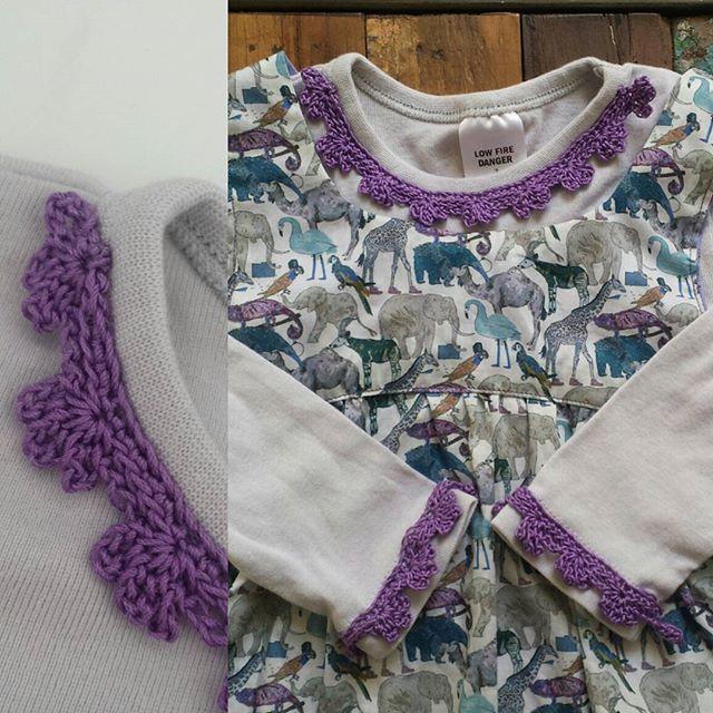 eclecticrochet crochet edging