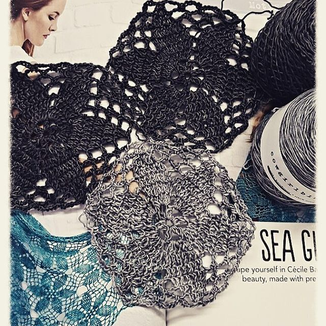 elzavan912 crochet sea glass shawl in simplycrochet