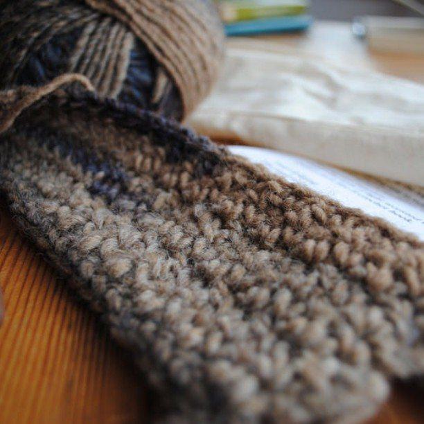 featherandthreads crochet mitts