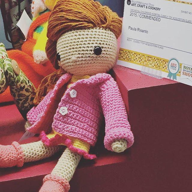 flamingpot crochet doll
