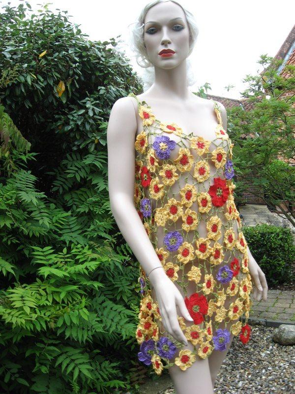 Celtic Wedding Dress Patterns To Sew 74 Fabulous floral crochet dress
