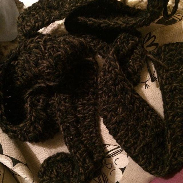foxyloxy69 vstitch crochet scarf