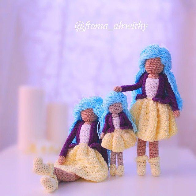 ftoma_alrwithy crochet art dolls