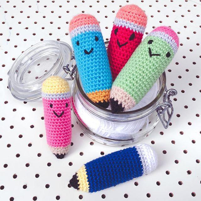 fulltiltnanna crochet pencils