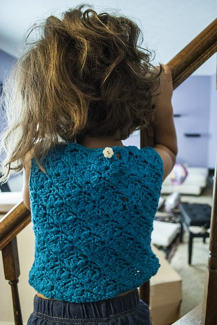 girls crochet shirt pattern