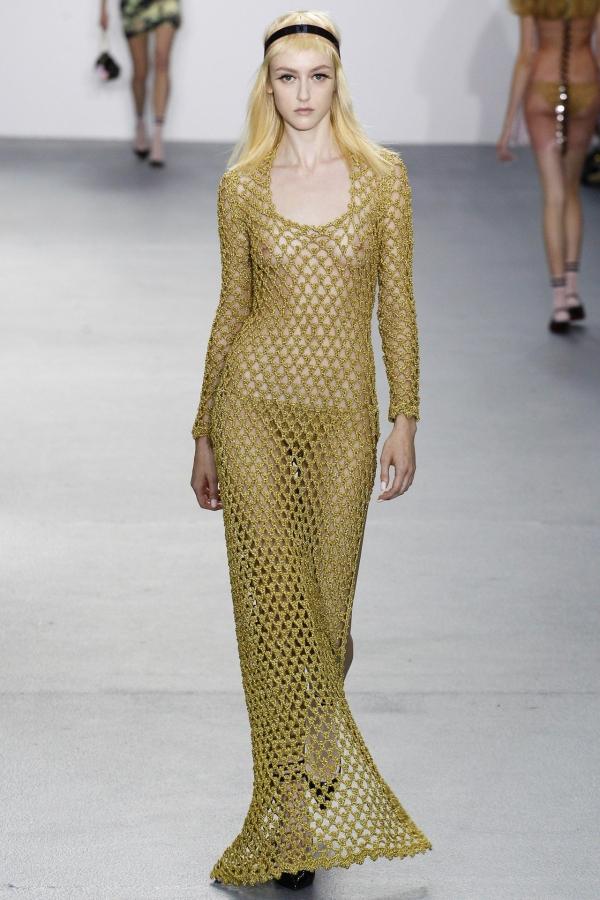 gold crochet dress sibling