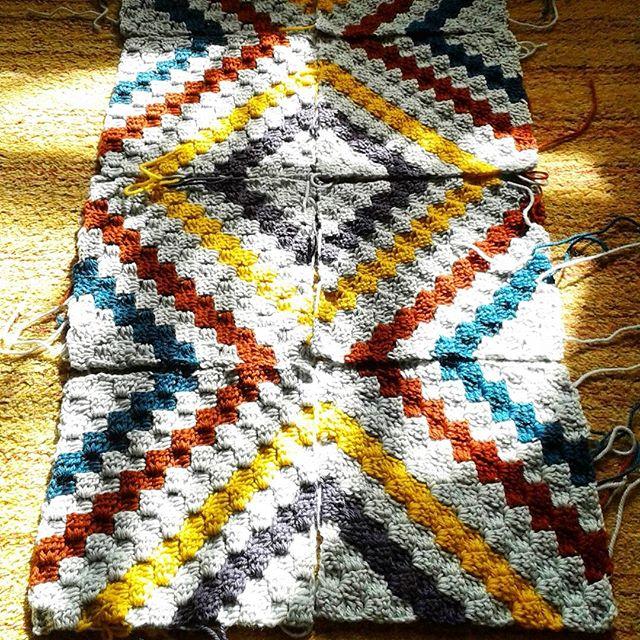 hanrosieg sunny crochet blanket