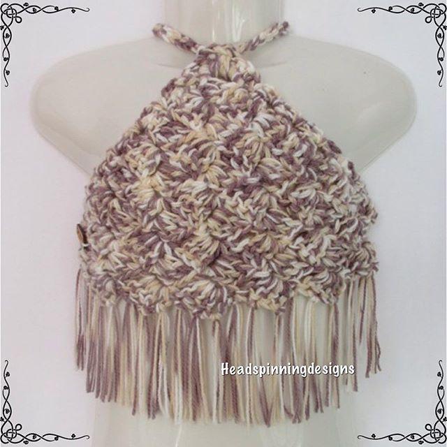 headspinningdesigns crochet halter