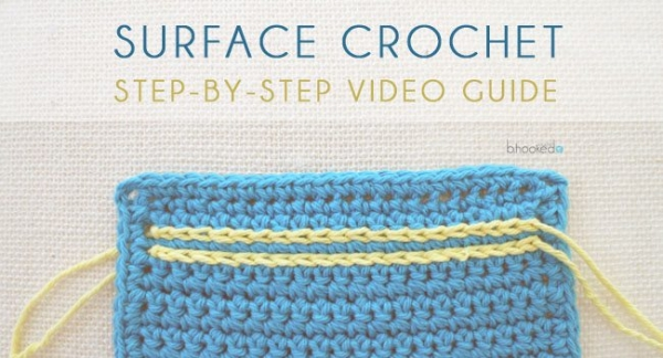 how to surface crochet (video)