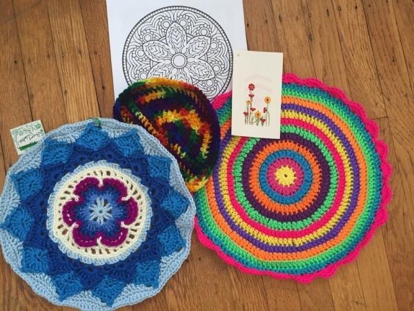 crochet mandalas package by Flo