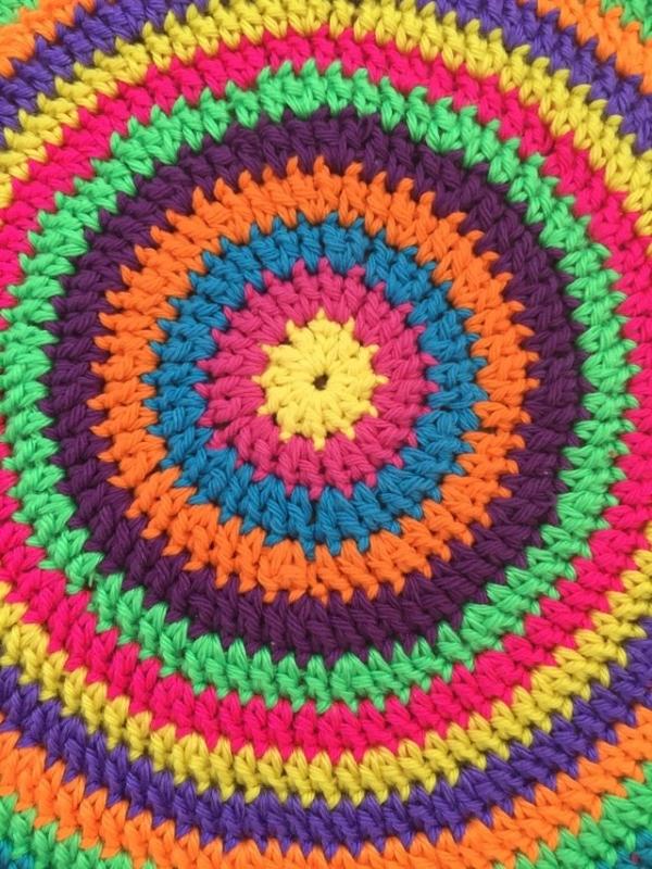 crochet mandala by flo
