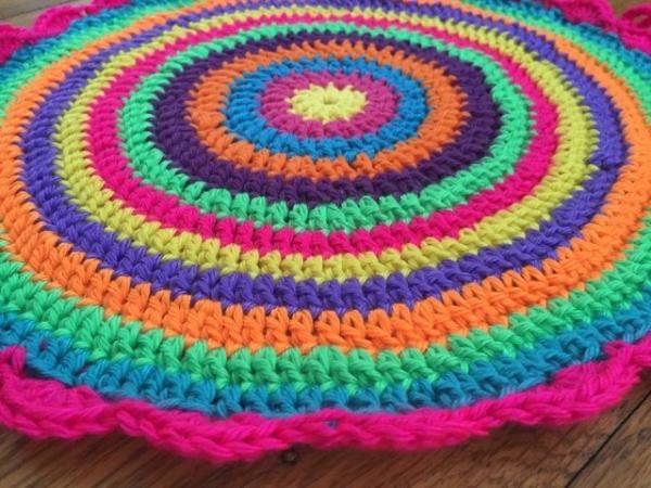 crochet mandala for wink by flo