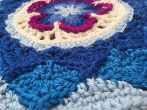 Flo's mandalasformarinke crochet mandala