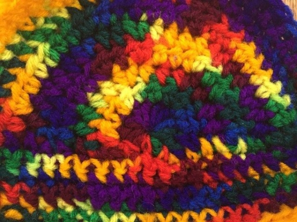 crochet rainbow by flo