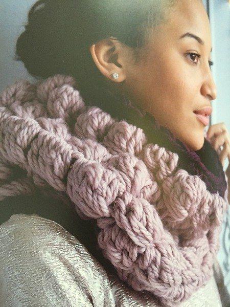 big hook crochet cowl