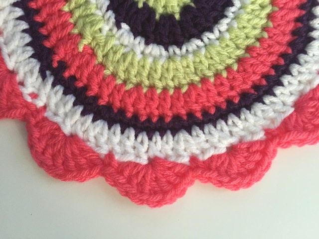 Crochet Mandalas for Marinke by Alissa Beverly