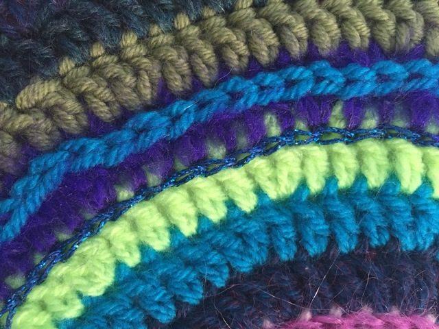 Brenda's Crochet Contribution to Mandalas For Marinke