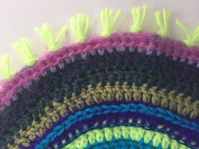 Brenda's Crochet Contribution to Mandalas For Marinke from Ireland