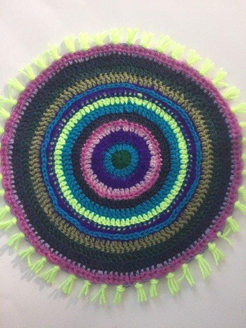Brenda's Crochet Contribution to MandalasForMarinke