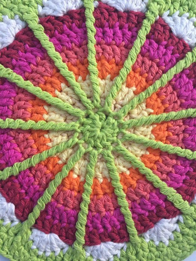 anonymous spoke crochet mandala