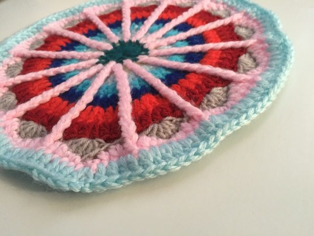 bahar's crochet mandala for marinke contribution