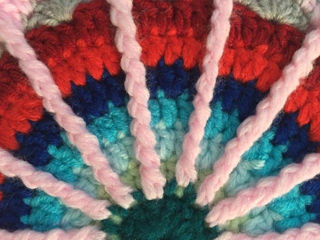 crochet spoke mandala by bahar
