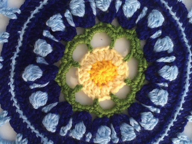 Crochet Mandala for Marinke by Pia of Stitches n Scraps