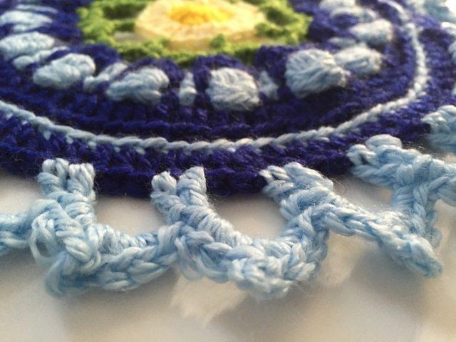 Crochet Mandala for Marinke by Pia