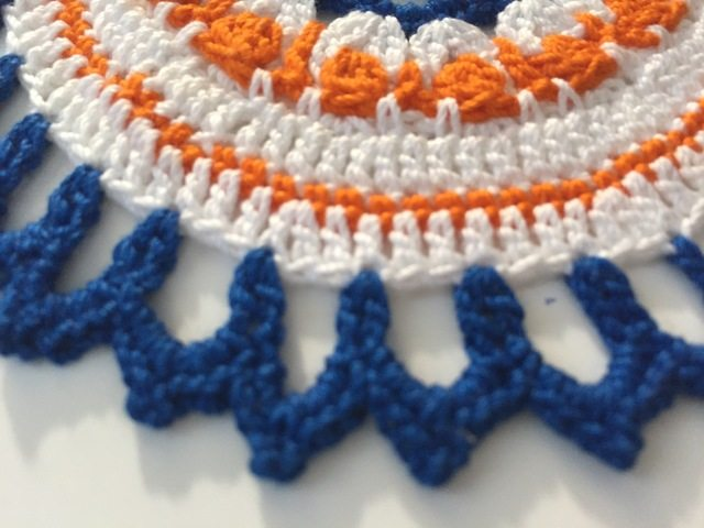 crochet mandalas for marinke by jenny brown
