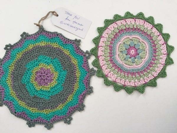 Mariana's Crochet Mandalas for Marinke