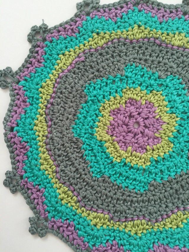 Mariana's Crochet Mandala for Marinke