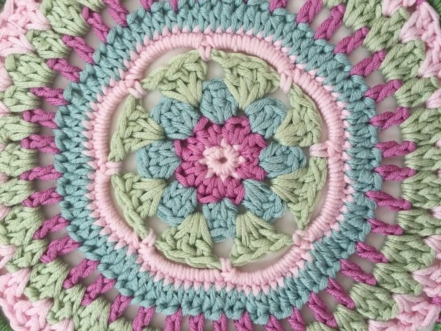 Mariana's Crochet Contribution to MandalasforMarinke