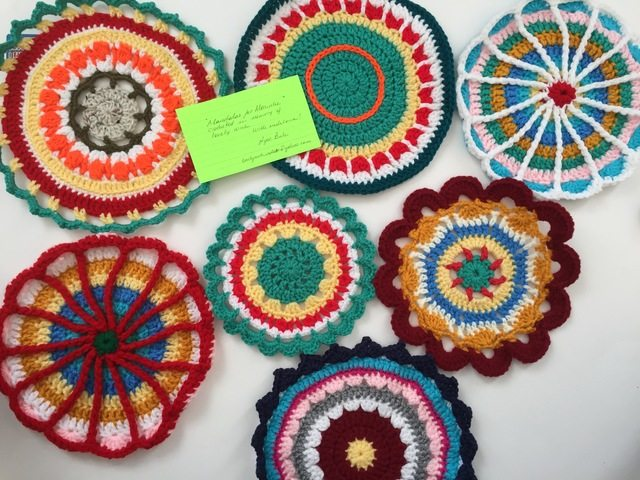 Ayse's Crochet Mandalas for Marinke