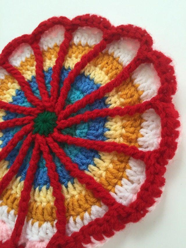 Crochet Mandala by Ayse