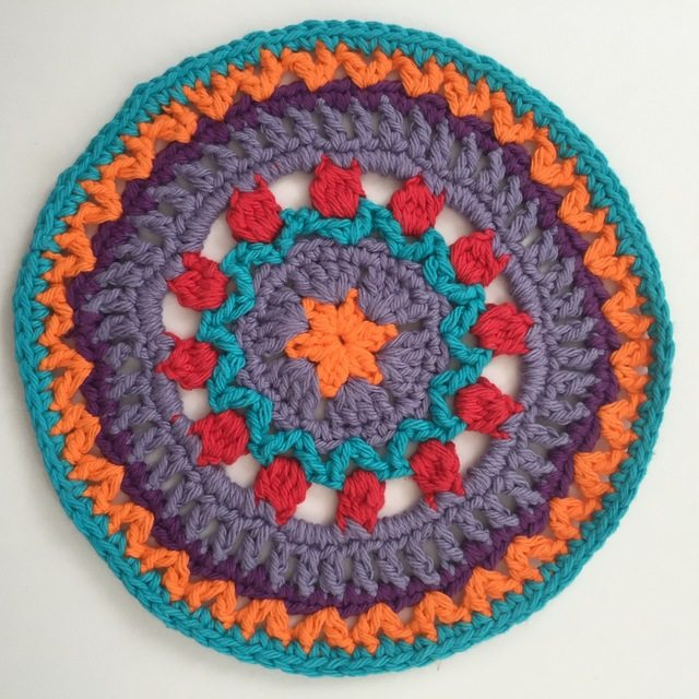 Erica's Crochet Contribution to Mandalas for Marinke