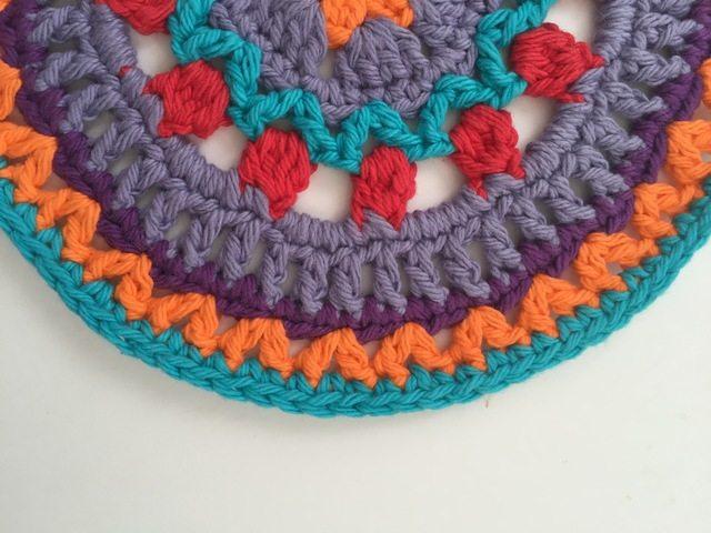 Erica's Crochet Contribution to MandalasforMarinke